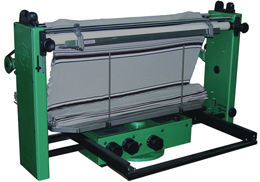 SUPER DENSITY ADJUSTING SPEED FABRIC FOLDING & ROLLING MACHINE 2G TYPE S.D.Ⅱ