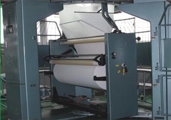 1/2 ATMOSPHERIC PRESSURE FABRIC ROLLING MACHINE TYPE S.D.Ⅱ